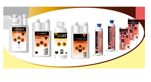 Produktpalette Scharda Produkte