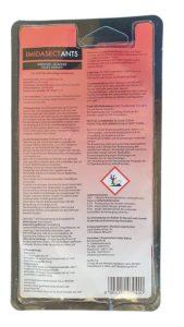 Produktbild Imidaset-Ants-Ameisen-Gel 5 gr Blister, Rückseite