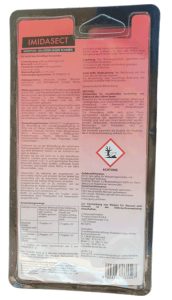 Produktbild 5 Gr Schaben-Gel Blister Rückseite