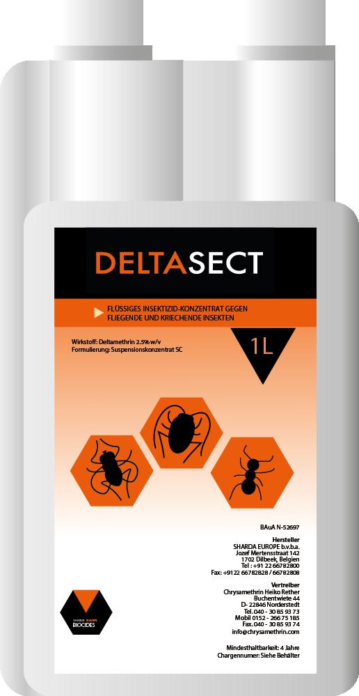Produktbild 1 Liter Dosierflasche DELTASECT