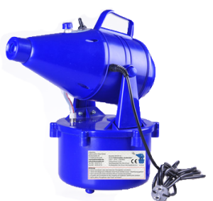 Produktbild Kaltvernebler Hardworker, Gerät ist blau