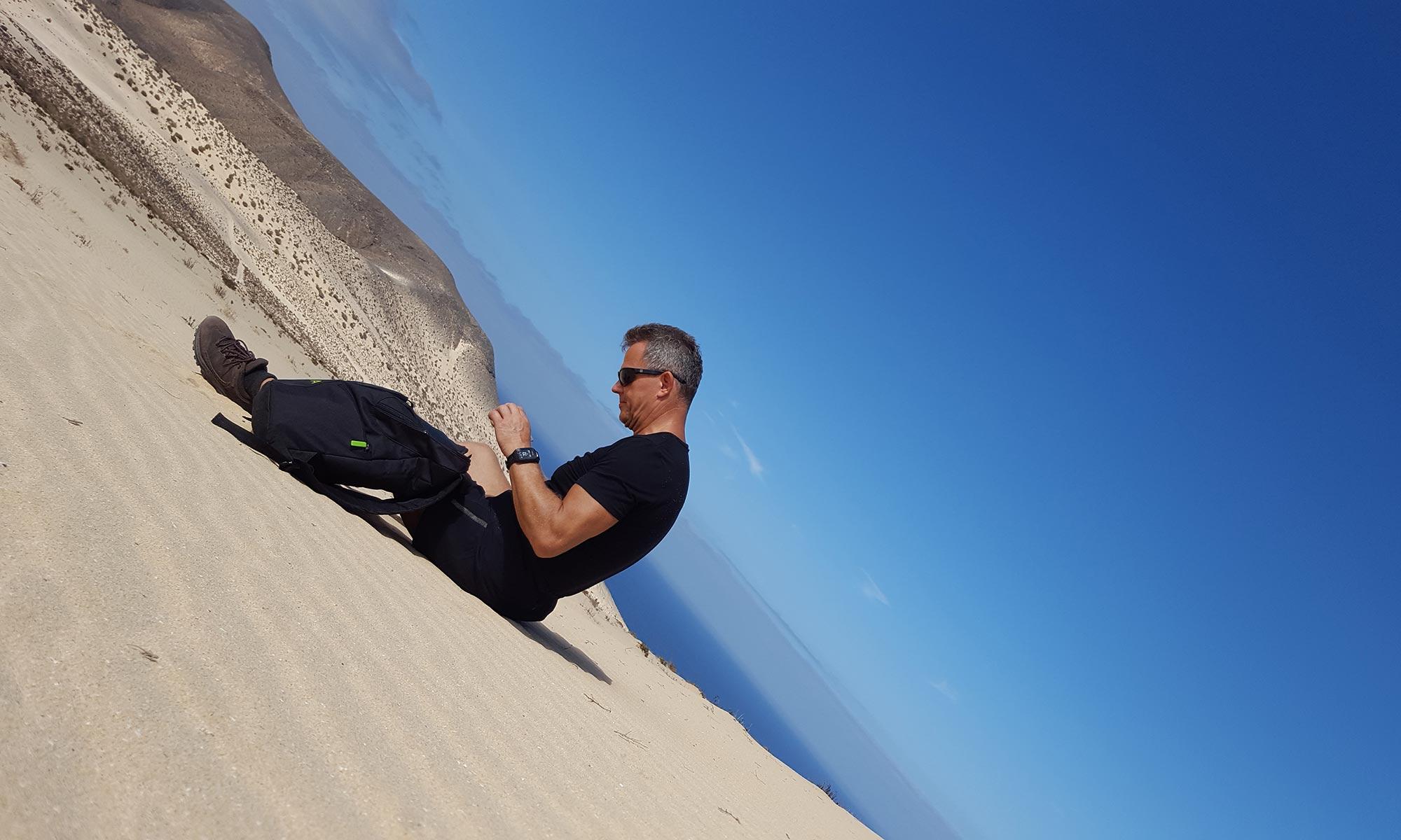 Heiko Rether Fuerteventura Westküste, Sanddüne