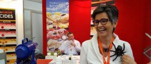 Sylvie Rether Stand von Sharda - Pest Protect 2016 Stuttgart