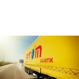 Truck Atom Logistik unsere Spedition