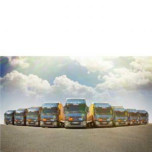 Truck Atom Logistik unsere Spedition