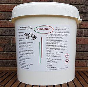 Verminex Pro Mardervergrämungsmittel 5 kg Eimer